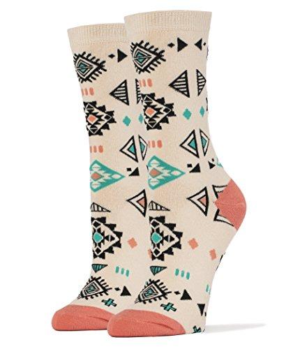 Sock It Up Women's Luxury Combed Cotton Crew Socks … (My Pueblo) (Pueblo Baskets)