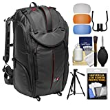Manfrotto Pro Light Pro-V-610 PL DSLR Video Camera Backpack with 58'' Tripod + DSLR Diffusers & Cleaning Kit