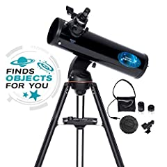 Celestron is not only changing the way we experience astronomy, but we're also changing the way you interact with the night sky. The Astro Fi 130 mm Newtonian is a fully featured telescope that can be controlled with your smart phone or table...