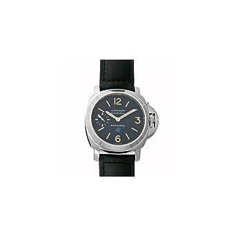 ce5539087734 Amazon.com  Panerai Luminor Marina Black Dial Mens Hand Wound Watch ...