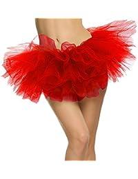 Women's Adult 5 Layered Tulle Mini Tutu Skirt