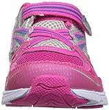 Saucony Baby Girl's Ride Running Shoe, Pink, 11