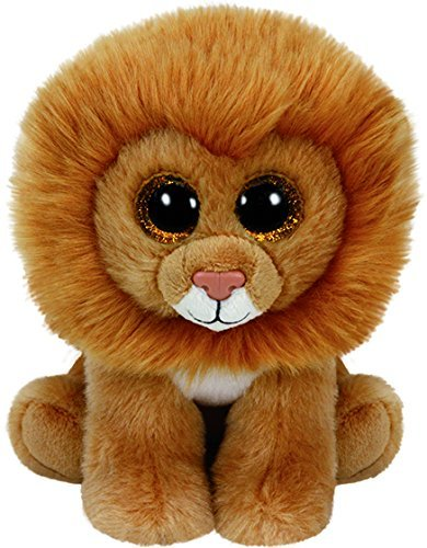 8f21651aed2 Image Unavailable. Image not available for. Color  Ty Beanie Boos 6 quot   Louie - Lion Collections Plush Doll Toys