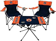 Rawlings NCAA 3-Piece Tailgate Kit - Includes 2 Chairs & 1 Table - (All Team Opti
