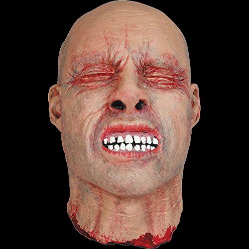 - Realistic Life Size Bloody ZOMBIE SEVERED HUMAN HEAD Haunted House Horror Prop