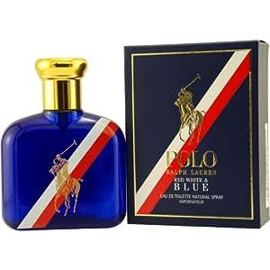 Polo Red, White and Blue By Ralph Lauren Eau-de-toilette Spray, 4.2-Ounce