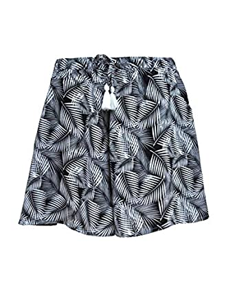 B STORIES Women's Viscose Printed Culotte Shorts
