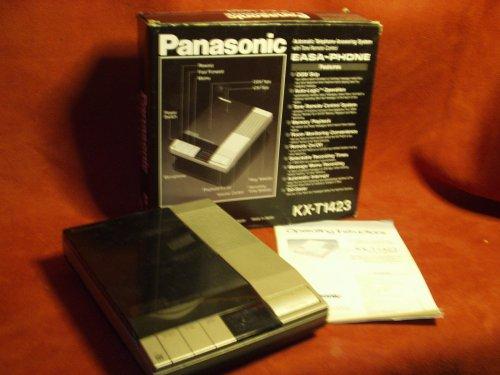 Panasonic KX-T1423 Dual Tape Answering Machine EASA-PHONE - Auto Telephone Answering
