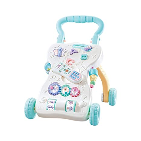 Andadores Baby Walker interactivo, 2-en-1 Music Phone Baby ...