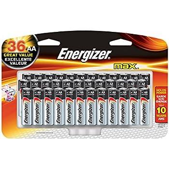 Amazon.com: Energizer AA Batteries (24 Count), Double A