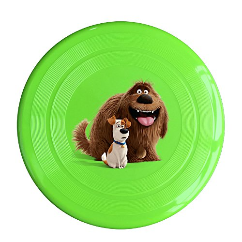 Discovery Wild The Secret Life Of DUKE ï¼?MAX Plastic Sportdisc Flying Disc - Frisbee Like Toy For Outdoor Game Play - Sports For All Ages - Party Fun - KellyGreen]()