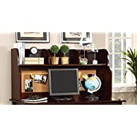 Furniture of America CM7905CH-HC Omnus Cherry Hutch Miscellaneous-Home Office Desk