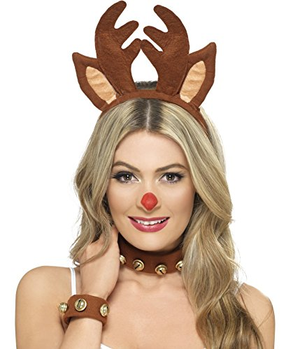 [Pin Up Reindeer Kit Costume Accessory Kit] (Cute Unique Costumes)