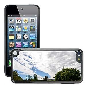 Print Motif Coque de protection Case Cover // M00295176 El cielo se nubla paisaje del campo de // Apple ipod Touch 5 5G 5th 6 6G 6th