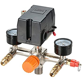 UNIVERSAL PRESSURE SWITCH 95-125 PSI FOR AIR COMPRESSOR 4