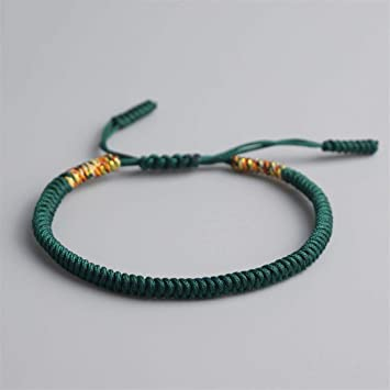 40eb127ec7 19 Colors Tibetan Buddhist Love Lucky Charm Tibetan Bracelets   Bangles For  Women Men H made