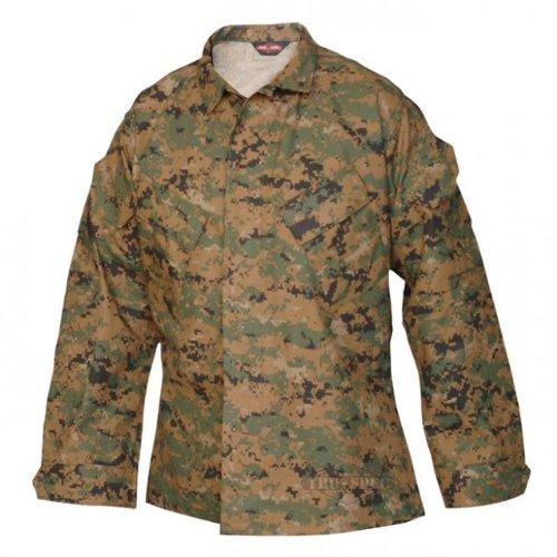 Tru-Spec 1941 Tactical Response Uniform TRU Jacket - WOODLAND DIGITAL (Small/Regular)