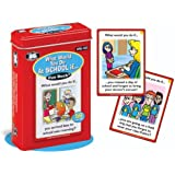 What Would You Do At School If... Fun Deck Cards - Super Duper Educational Learning Toy for Kids