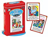 What Would You Do At School If. Fun Deck Cards - Super Duper Educational Learning Toy for Kids