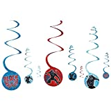 Marvel Black Panther™ Spiral Decorations