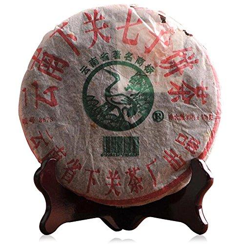 Lida - 2005yr Xia Guan (8673) Sheng Puerh Tea Cake - Chinese Raw Puer Tea - 357g by Lida