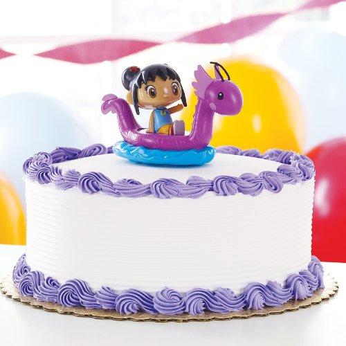 Deco Pac - Ni Hao, Kai-Lan Dragon Boat Cake Topper -