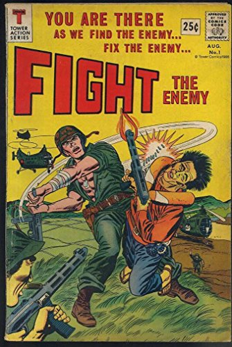 Fight The Enemy #1 Lucky 7 Silver Age War Fine Tower Comics1966 CBX1J