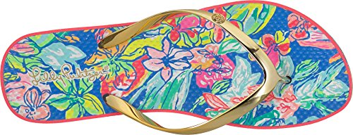 Pulitzer Flop Lilly Flip Blue Bennet Pool Womens Bqww8x1