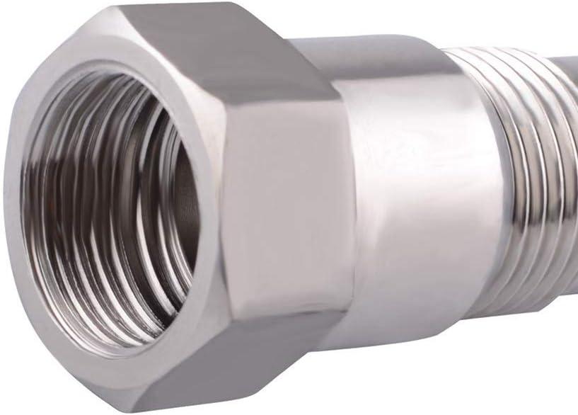 housesweet Adaptador de Sensor de ox/ígeno O2 M18X1.5 Adaptador de eliminador de luz del Motor Universal para Sistemas de Escape