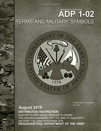 Buy Army Doctrine Publication Adp 1 02 Terms And Military Symbols