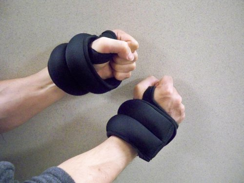 CFF FIT Weighted Gloves, 4 Pounds