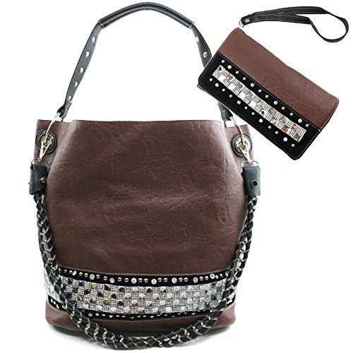 Justin West Concealed Carry Rhinestone Bling Crystal Past...