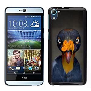 [Neutron-Star] Snap-on Series Teléfono Carcasa Funda Case Caso para HTC Desire D826 [Bird Beak Tropical Turkey Yellow Blue]