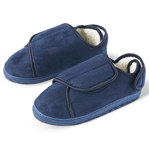 Womens Fleece Lined Comfy Slippers