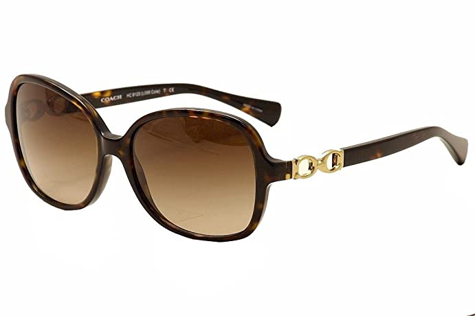 285facad93de ... greece coach womens cole dark tortoise sunglasses fc242 c3fc4