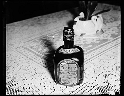 Vintography 1935 Photo Ancient Old Parr Real Antique and Rare Old Scotch Whiskey