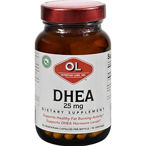 Olympian Labs DHEA - 25 mg - 90 Capsules pack of -6 by Olympian Labs