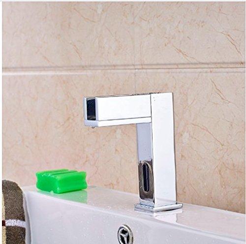 LED Light Water Saving Sensor Taps Wholesale | Gowe Bathroom Vanity Sink Tap 3