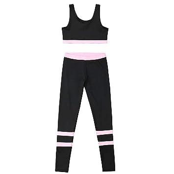 Greetuny 2pcs Casual Conjuntos Deportivos Mujer Fitness Moda ...
