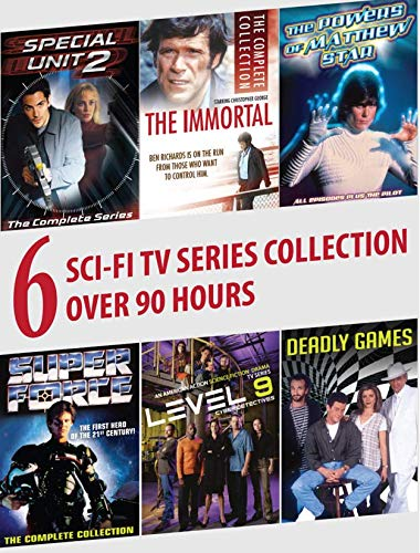 6 Sci-Fi TV Series Collection: Special Unit 2, The Immortal, The Power of Matthew Star, Super Force, Level 9, Deadly Games ()