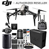 DJI Inspire 2 Quadcopter with CinemaDNG and Apple ProRes Licenses with 50mm f/2.8 ASPH LS Lens & Zenmuse X7 Camera and 3-Axis Gimbal & Cendence Remote Controller Bundle