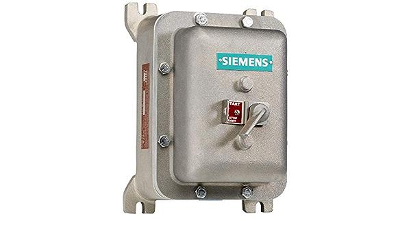 Siemens 11HD3BD Manual Starter and Enclosure NEMA 1 General Purpose Enclosure 208V at 60Hz Coil Voltage 0.55-0.8 FLA Adjustment Range