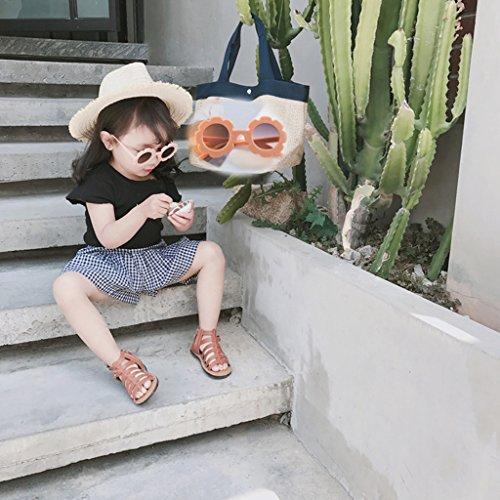 Regalo UVAccesorio Girl de Kids Rosa de se Girl como Lindo Baby rojo Decorativos describe de Suave Casa claro Homyl Flower Plástico Fiestas Sun qPYcz