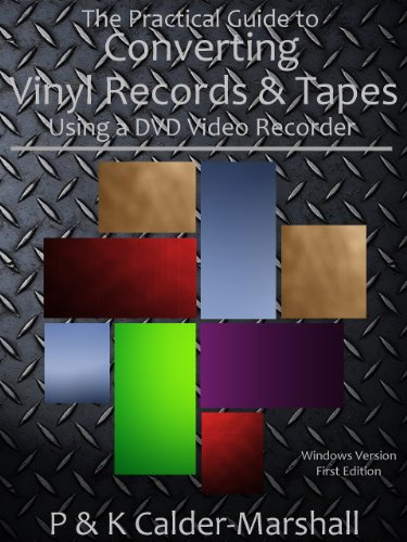 The Practical Guide to Converting Vinyl Records & Tapes Using a DVD Video Recorder