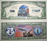 us 1000 bill - Set of 1000 - US National Guard Million Dollar Bill