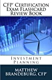 CFP Certification Exam Flashcard Review Book: Investment Planning (5th Edition)