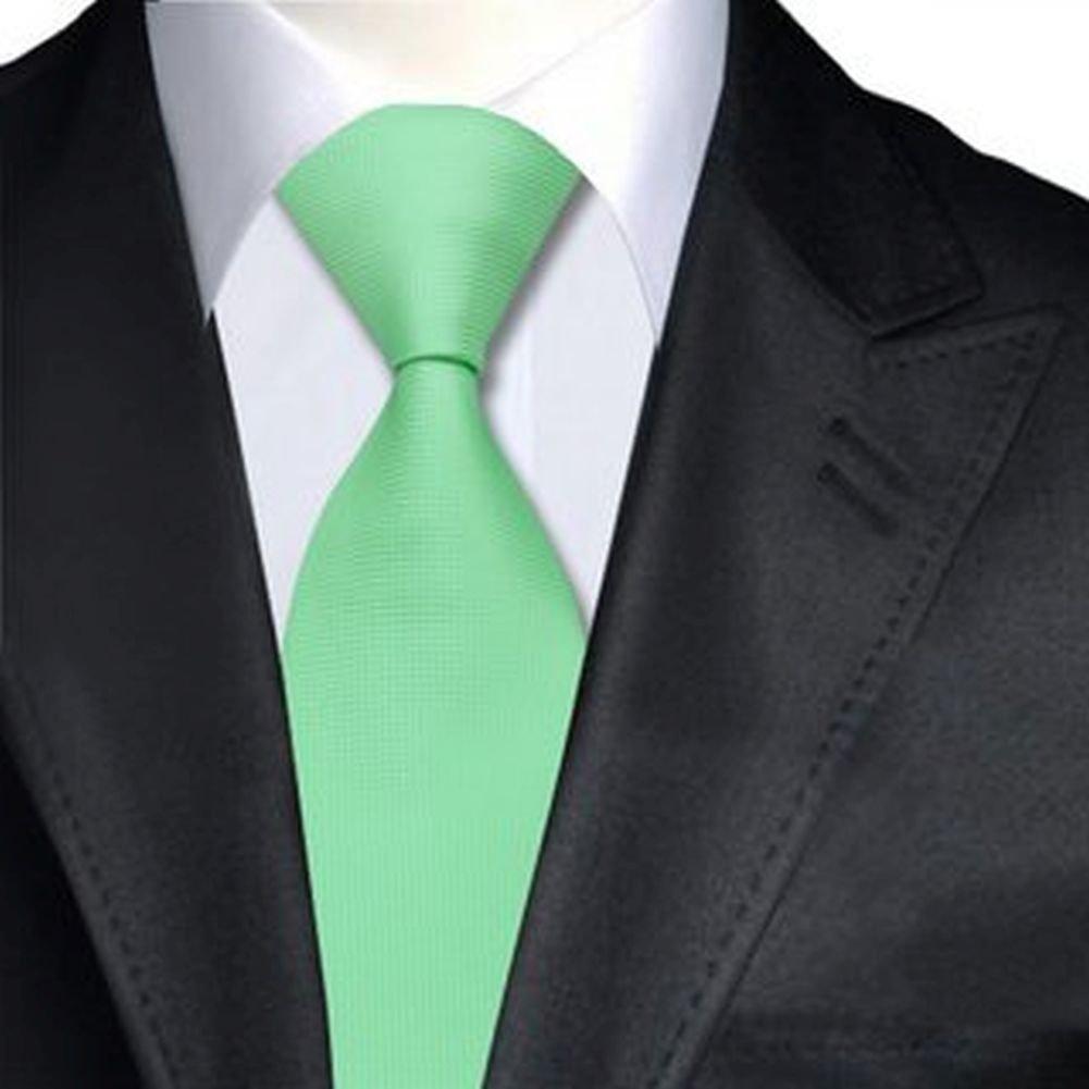 Jason&Vogue - Corbata - Básico - para hombre verde menta Talla ...