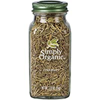 Simply Organic Simply Organic Rosemary Leaves Large Glass 35g, 35 g