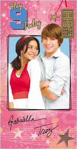 High School Musical Birthday Card Bag Keyring Age 9 Amazon
