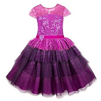 Disney Mal Occasion Costume for Ladies – Descendants 3 Measurement Purple